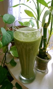 Green Smoothie Recipe Photo